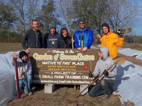 Winter 2014 Row Covering Crew